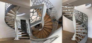 escaliers style industrie
