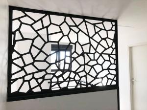 Claustra metallique design