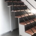 escalier design avec contremarche