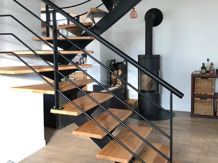 Escalier design nordique