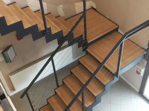 Escalier design crémaillère à la Française