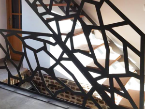 Escalier design avec claustra