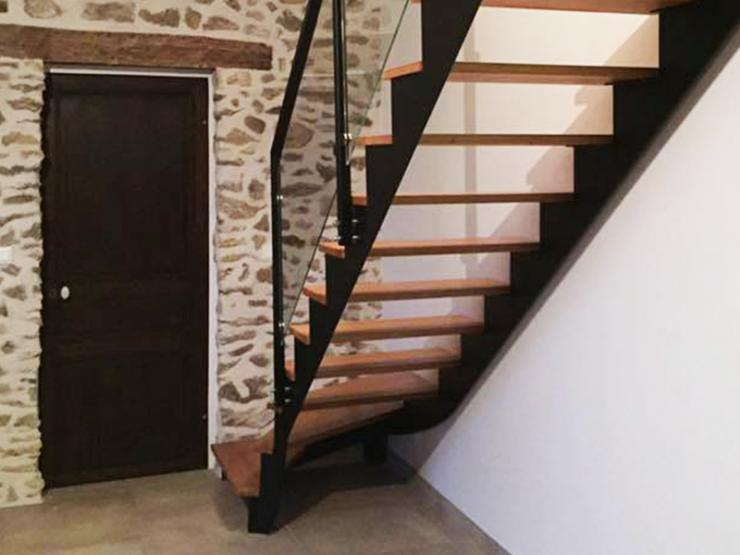 Escalier design sans contremarche