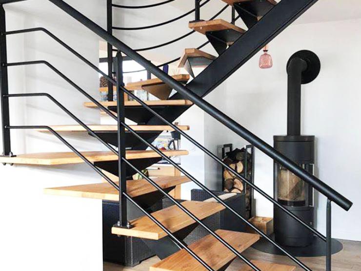 Escalier design style industriel