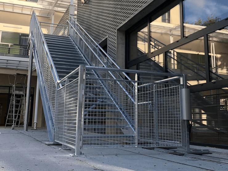 Escalier ERP extérieur