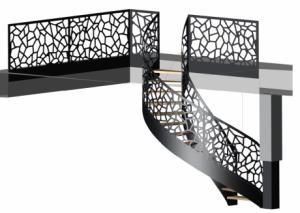 escalier metallique sur mesure
