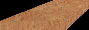 Marche bois escalier industriel