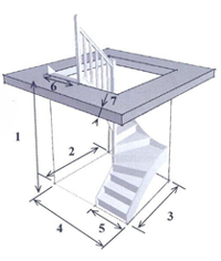 notice escalier demi tournant