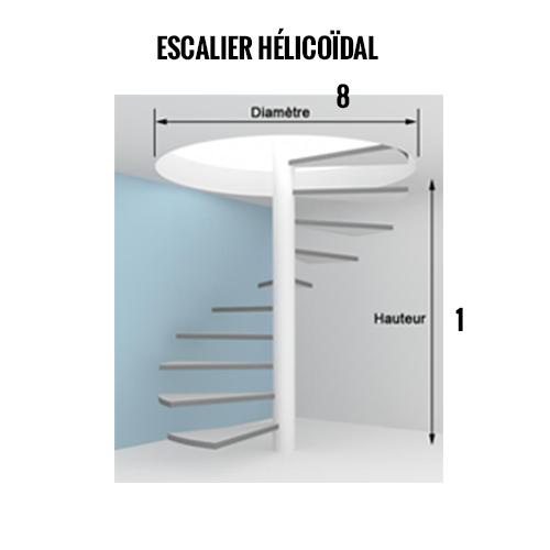 Notice escalier hélicoidal