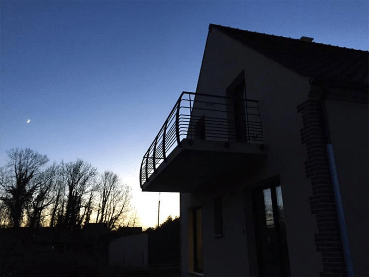 garde corps balcon design